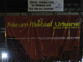 The Urban Social Forum at Açao da Cidadania