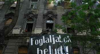 Budapest, Vacant Buildings March and Occupation