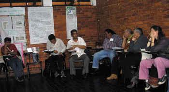 Campaña 0 Desalojos, seminario autogestionado por los Habitantes, ASUNCIÓN, agosto 2010
