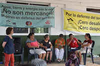 First Meeting of Women Defenders of the Territory and the City, Mexico
