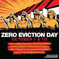 Philippines, Kadamay greets Habitat Month by joining International Zero Eviction Day, slams new infrastructure projects
