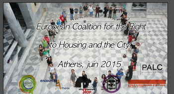 Solidarity of European housing movements with the Greek people