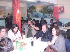 Visita al barrio Villa15 y al comedor Enhacore. Comedor Enhacore